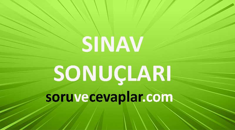 sınav sonuclari Sonuç Yayınları Türkiye Geneli Deneme Sınavı 2020 Sonuçları TYT LGS