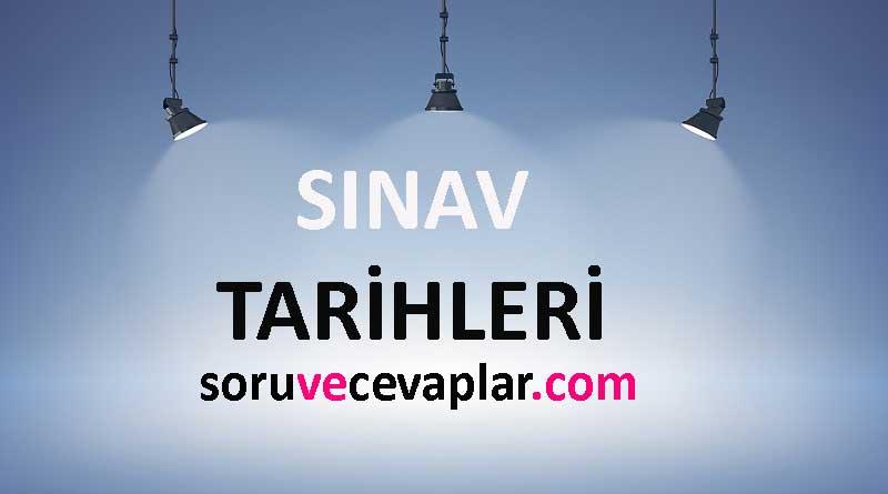 Türkiye Geneli Deneme Sınavı Tarihleri 2021 YKS TYT