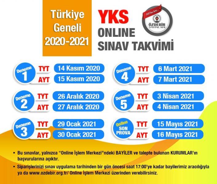 ozdebir online deneme tarihleri 2021 Özdebir Türkiye Geneli Online Deneme Sınavı Tarihleri 2021 TYT AYT LGS