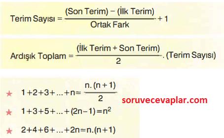 terim toplami formulleri Ardışık ve Asal Sayılar Konu Anlatımı ve Formülleri - TYT KPSS DGS ALES