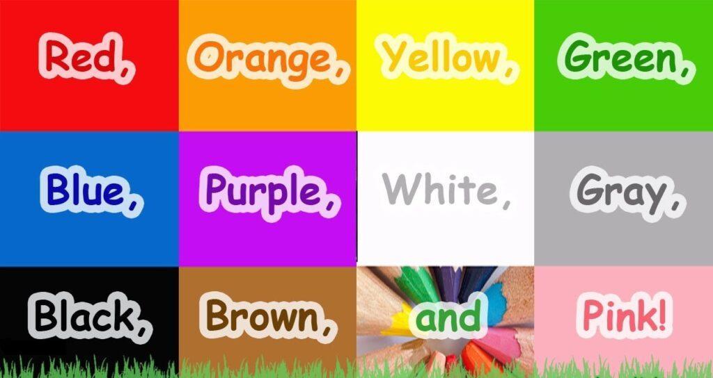 1 sinif ingilizce renkler 1. Sınıf İngilizce Renkler Test Çöz (Colors)