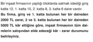 7. sınıf matematik 1. dönem 1. yazılı