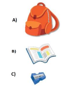 uzamsal iliskiler5 1. Sınıf Matematik Uzamsal İlişkiler Test Çöz