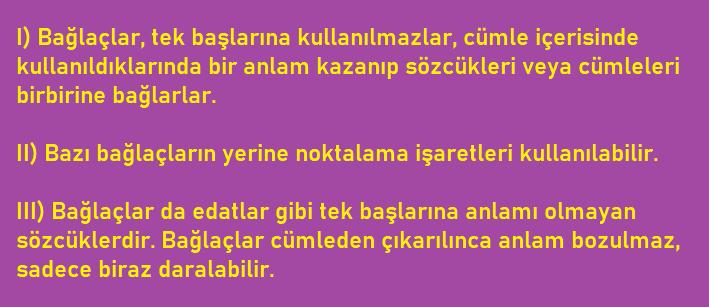 EDAT 4 6. Sınıf Türkçe Edat Bağlaç Ünlem Test Çöz