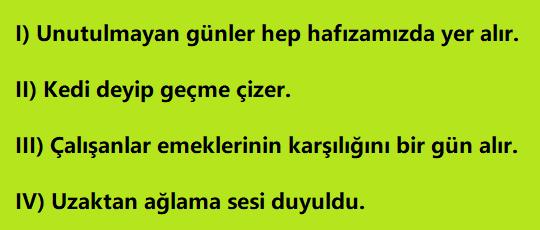 Fiil 5 8. Sınıf Türkçe Fiilimsiler Test Çöz