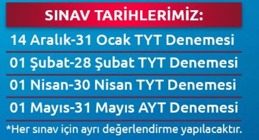 ayvansaray uni Türkiye Geneli Online Deneme Sınavı 2021 YKS