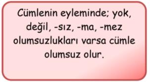 cumle bilgisi 5 4. Sınıf Türkçe Cümle Bilgisi Test Çöz