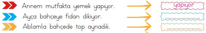 fiiller 2 2. Sınıf Türkçe Eylemler Test Çöz - 2. Sınıf Fiiller Testi
