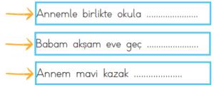 fiiller 4 2. Sınıf Türkçe Eylemler Test Çöz - 2. Sınıf Fiiller Testi