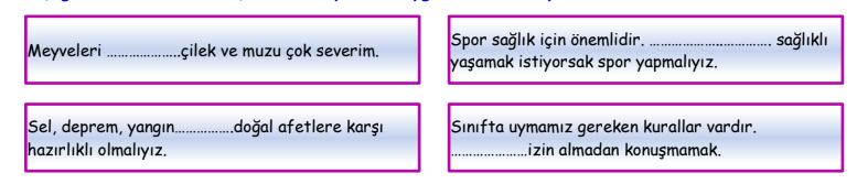 ifade 5 4. Sınıf Türkçe İfadeler Test Çöz