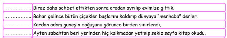 ifade 7 4. Sınıf Türkçe İfadeler Test Çöz