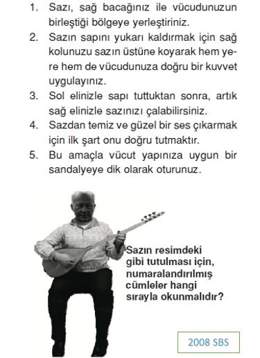 par 7. Sınıf Türkçe Paragrafta Anlam Test Çöz