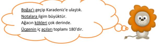 sozcukte anlam 3 1 7. Sınıf Türkçe Sözcükte Anlam Test Çöz