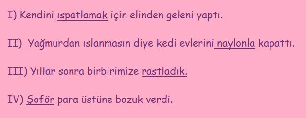 yazim 1 3 8. Sınıf Türkçe Yazım Kuralları Test Çöz