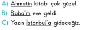 yazim kurallari 2 2. Sınıf Türkçe Yazım Kuralları Test Çöz