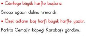 yazim kurallari 3 2. Sınıf Türkçe Yazım Kuralları Test Çöz