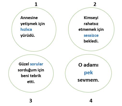 zarf 3 7. Sınıf Türkçe Zarflar Test Çöz