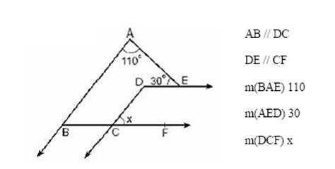 aci 3 6. Sınıf Matematik Açılar Test Çöz
