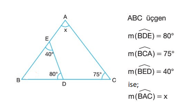 aci 6 6. Sınıf Matematik Açılar Test Çöz