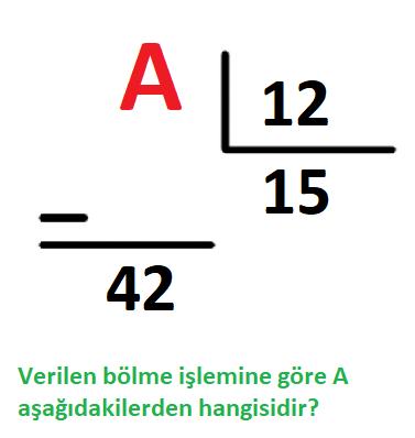 bolme 9 4. Sınıf Matematik Doğal Sayılarla Bölme İşlemi Test Çöz