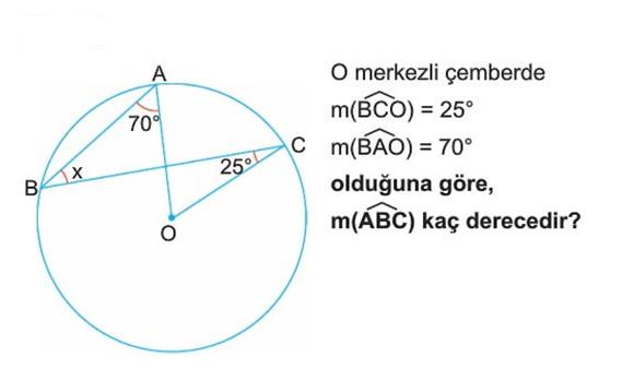 camber 2 6. Sınıf Matematik Çember Testi Çöz