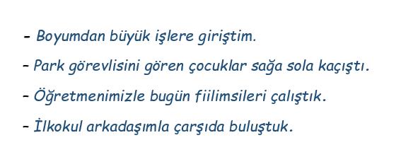 cati 2 2021 LGS Türkçe Fiilde Çatı Test Çöz