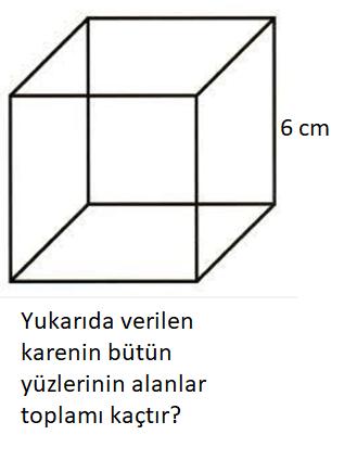 geo 10 5. Sınıf Matematik Geometrik Cisimler Test Çöz