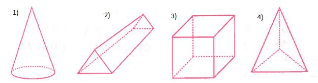 geometrik cisimler 2021 LGS Matematik Geometrik Cisimler Test Çöz