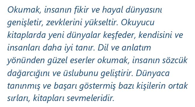 paragraf 6 2021 LGS Türkçe Paragrafta Anlam Test Çöz