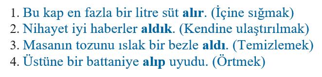 sozcukte anlam 3 2021 LGS Türkçe Sözcükte Anlam Test Çöz