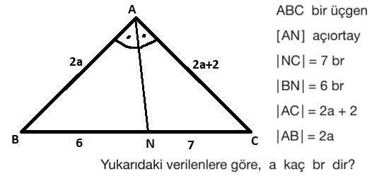 ucgen 5 5. Sınıf Matematik Üçgenler ve Dörtgenler Test Çöz