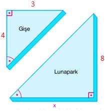 ucgenler 9 1 2021 LGS Matematik Eşlik ve Benzerlik Test Çöz