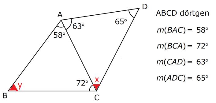 ucgennn 8. Sınıf Matematik Üçgenler Test Çöz