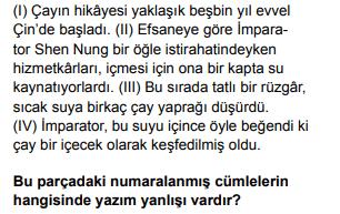 2020 turkce 20 2020 LGS Türkçe Soruları Çöz Online