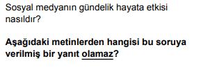 2020 turkce 9 2020 LGS Türkçe Soruları Çöz Online