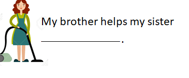3 4 8. Sınıf İngilizce 8. Ünite Chores Test Çöz