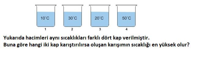 isi 3 5. Sınıf Fen Bilimleri Isı ve Sıcaklık Test Çöz