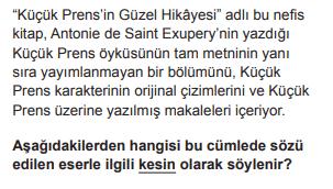2018 turkce 10 2018 LGS Türkçe Soruları Çöz Online
