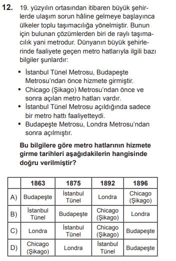 2018 turkce 12 2018 LGS Türkçe Soruları Çöz Online