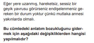 2018 turkce 2 2018 LGS Türkçe Soruları Çöz Online