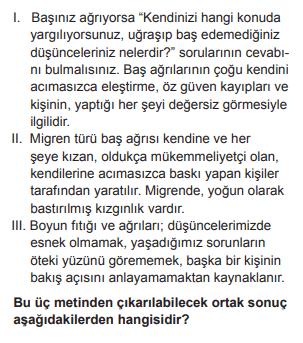 2018 turkce 20 2018 LGS Türkçe Soruları Çöz Online