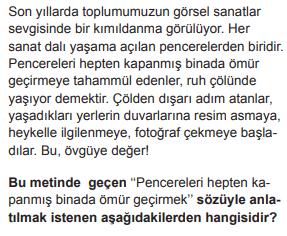 2018 turkce 3 2018 LGS Türkçe Soruları Çöz Online