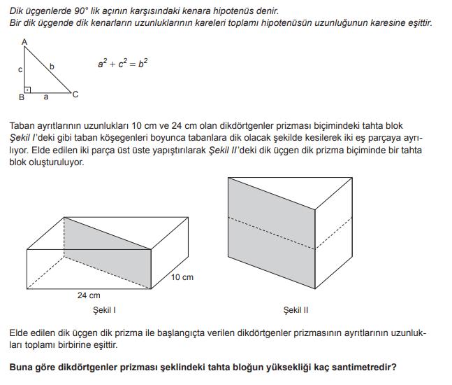 2019 mat 18 2019 LGS Matematik Soruları Çöz Online