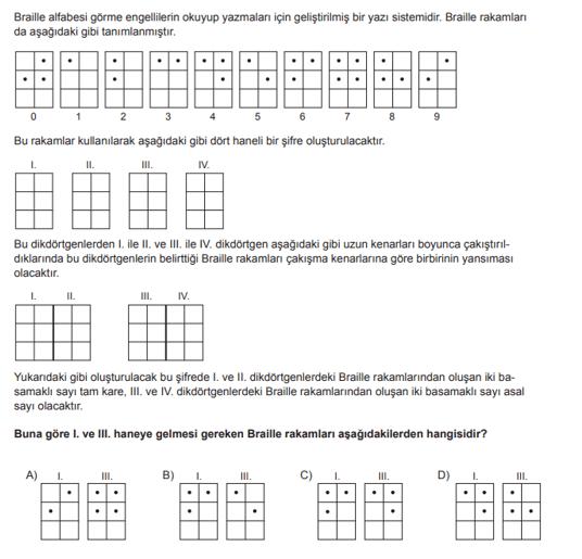 2019 mat 19 2019 LGS Matematik Soruları Çöz Online