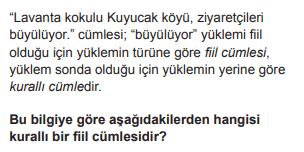 2019 turkce 11 2019 LGS Türkçe Soruları Çöz Online