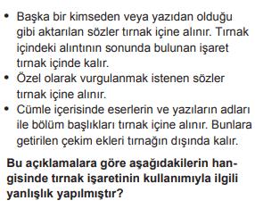 2019 turkce 12 2019 LGS Türkçe Soruları Çöz Online