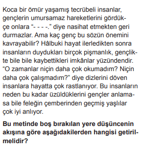 2019 turkce 13 2019 LGS Türkçe Soruları Çöz Online
