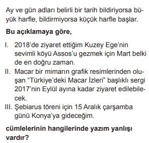 2019 turkce 133 2019 LGS Türkçe Soruları Çöz Online