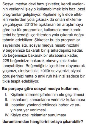 2019 turkce 16 2019 LGS Türkçe Soruları Çöz Online
