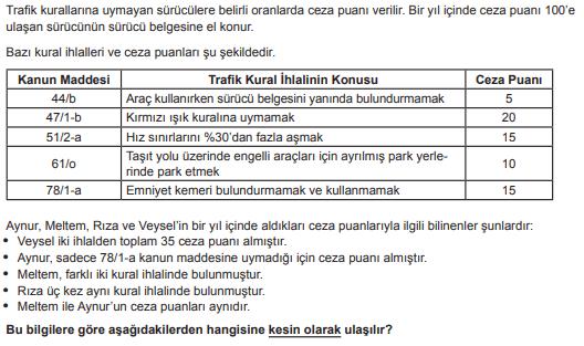 2019 turkce 20 2019 LGS Türkçe Soruları Çöz Online